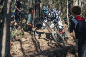 Joel Willis, favourite for the RedAss Downhill State Championship title in the U19's category. Photo: Jaime Black