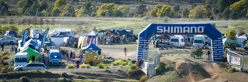 Event centre at Stromlo with under-pass. Photo: OuterImage.com.au