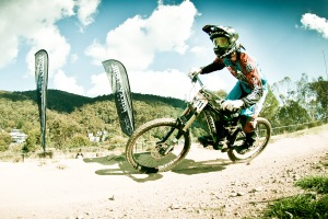 National Downhill Champion Danielle Beecroft, junior ambassador for mountain biking in Australia. Photo: Ales Matousek