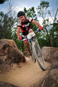 Ed McDonald to defend his 2012 and 2013 AMB100 Marathon titles at Stromlo next weekend. Photo: Gilbert Romane/OuterImage.com.au