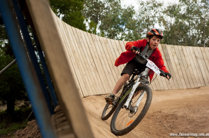 Or choose the B-/C-Lines, you'll get less speed and can race past the wall-ride. Photo: The Roost