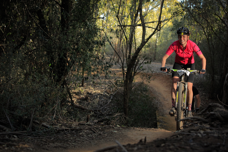 Briony Mattocks catches the endurance racing bug with Rocky Trail and wins the GP7 elite women's division. Photo: OuterImage.com.au