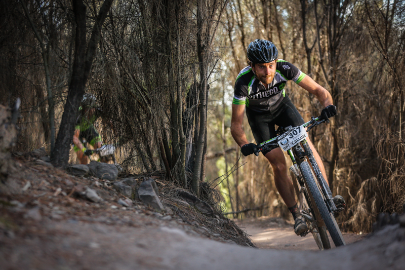 Callum McNamara succeeds on his home track to take out the overall 7-hour SHIMANO MTB Grand Prix Series title in 2014.