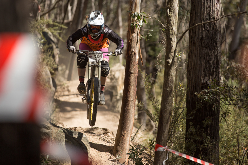 Sarah Booth defends her elite women's series lead.