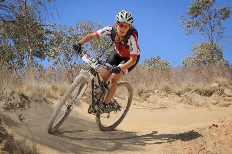 Liz Smith, ready to defend here 24 Hour Solo National title at Mount Annan.