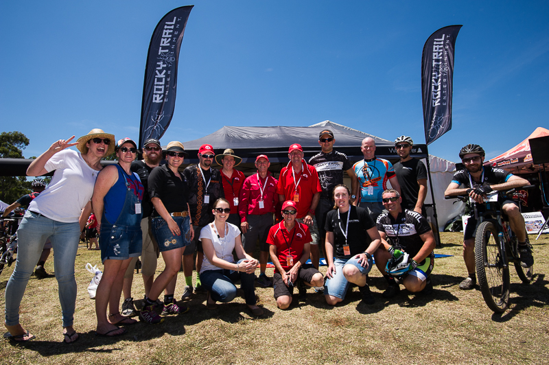 The Rocky Trail Crew at the JetBlack 24 Hour. Photo: OuterImage.com.au