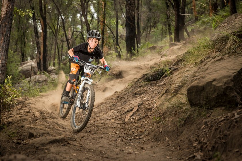 Cooper Lowe, one of the youngest Fox Rollercoaster racers and series leader in the Under 15's division. Photo: OuterImage.com.au