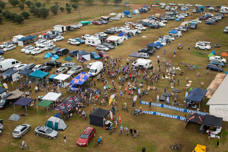 Event centre SHIMANO MTB GP at James Estate in 2014. Photo: OuterImage.com.au