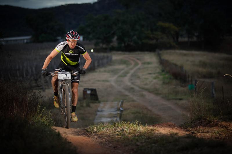 Defending Champion since 2010: Jason English. Photo: OuterImage.com.au