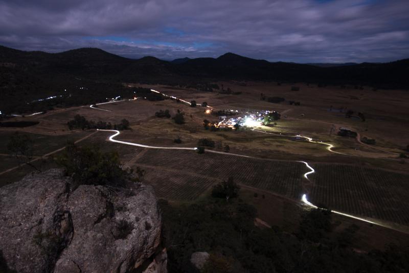 Night racing at James Estate - a unique experience. Photo: OuterImage.com.au