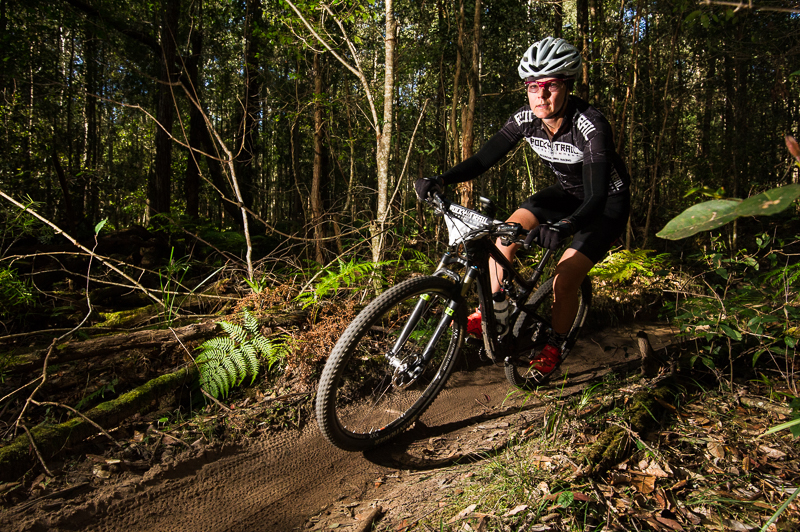 Series leader Lana Moy - women's winner at the GP4 hour race at Ourimbah.