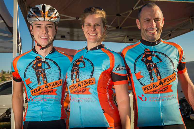 Pedal4Pierce, Rocky Trail's charity of choice, also provides local know-how when it comes to trail selection.