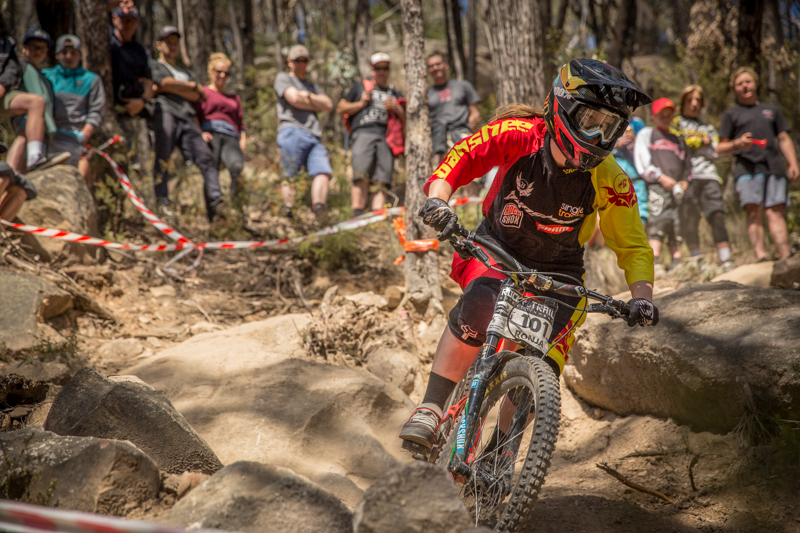 Ronja Hill-Wright - our 2015 RedAss DH NSW/ACT State Series winner. An incredible athlete - we wish her all the best with the upcoming move to NZ! Keep shredding!