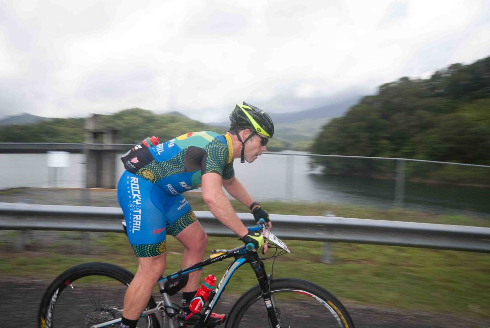 Trent at Copperlode Dam during Stage 2.