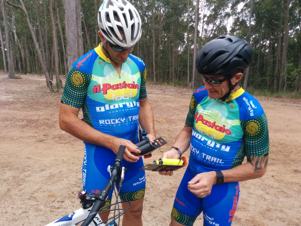 JetBlack Cycling has been a major supporter of Rocky Trail events and have supplied a plethora of goodies - including various grips and saddle bags. They are also the importers of Pivot Bikes in Australia, Martin's weapon of choice since 2009.