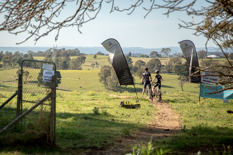 The new trails at Mowbray Park Farm delivered.