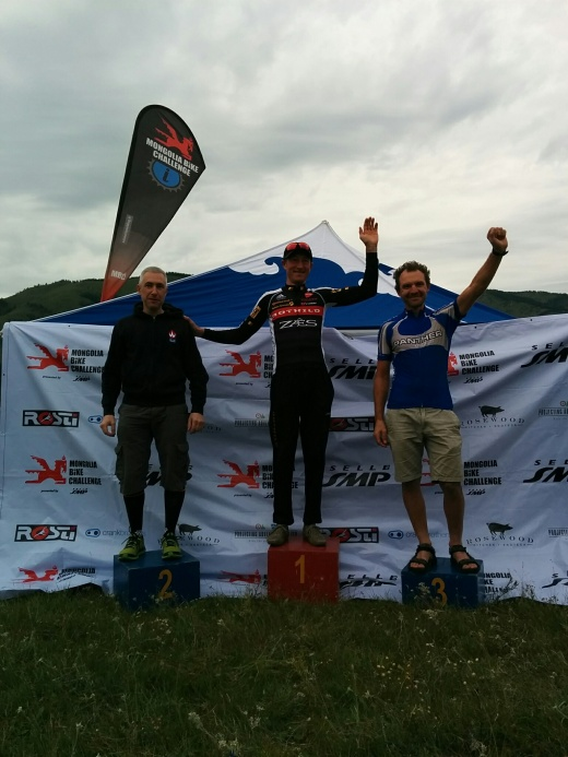 Third place in M2 for Mick Klemens - outstanding, mate!