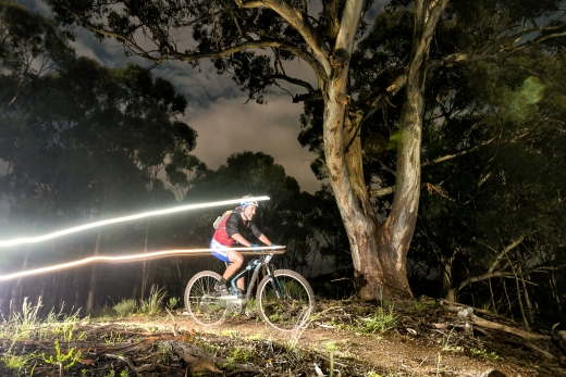 Race in a state forest of trance - take on the challenge and be a #rockytrailracer!