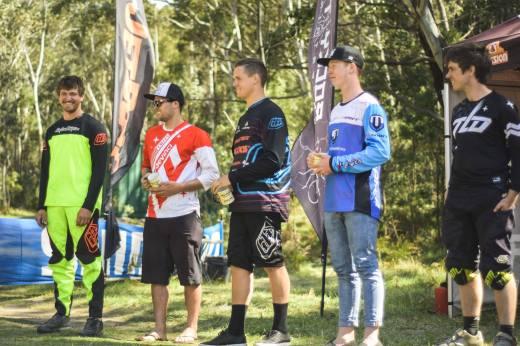 Series Elite Men l-r: Daniel Smith (4), Brent Smith (2), Joel Willis (1), Josh Clark (3), Luke Walsh (5)
